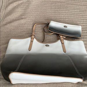 Coach ombré purse and wallet set